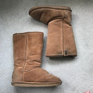 Bear Paw - Tall suede boots - 9M